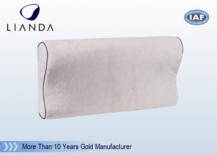 Body Serta Bamboo Memory Foam Pillows With Removable Hypoallergenic Cover