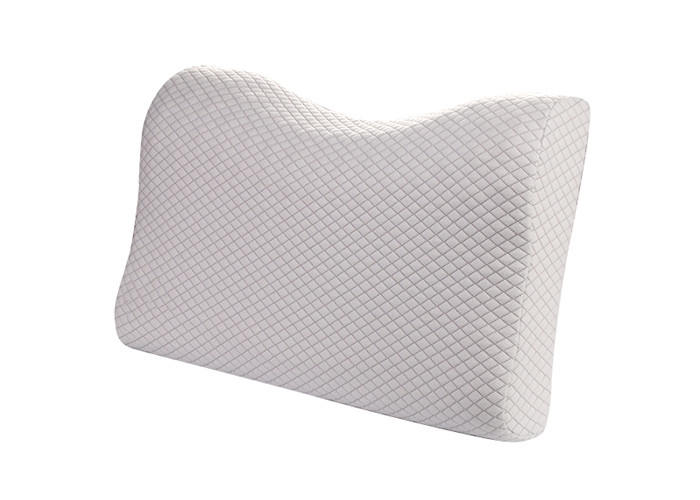 Neck Pain Hypoallergenic Memory Foam Massage Pillow Comfortable For Hotel