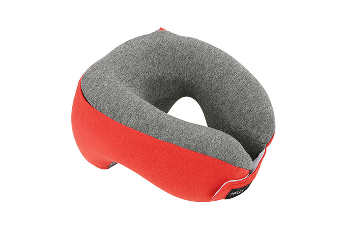 Organic Adjustable Travel Neck Pillow Memory Foam Temperature Insensitive